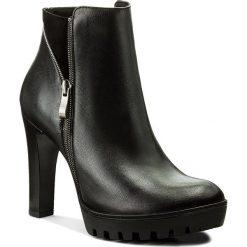Botki SERGIO BARDI - Bitonto FW127260817RB 101. Czarne buty zimowe damskie Sergio Bardi, ze skóry. W wyprzedaży za 269,00 zł.