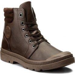 Botki BIG STAR - Y274022 Brown. Brązowe buty zimowe damskie BIG STAR, z materiału, retro. Za 109,00 zł.