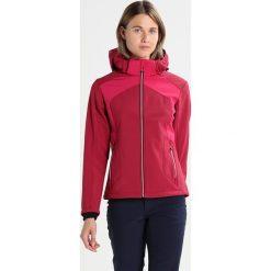 CMP Kurtka Softshell wine. Czerwone kurtki sportowe damskie marki CMP, z materiału. W wyprzedaży za 321,75 zł.