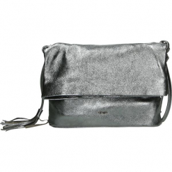Torba - 175-006M-O LA. Szare torebki klasyczne damskie Venezia, ze skóry. Za 229,00 zł.