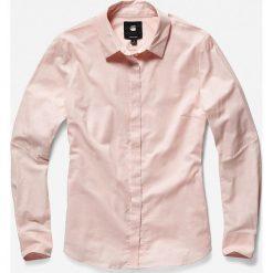 G-Star Raw - Koszula. Szare koszule wiązane damskie G-Star RAW, l, z bawełny, casualowe, z klasycznym kołnierzykiem, z długim rękawem. W wyprzedaży za 319,90 zł.