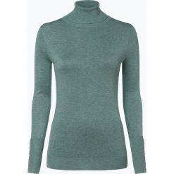 Marie Lund - Sweter damski, niebieski. Niebieskie swetry klasyczne damskie Marie Lund, l, prążkowane, z golfem. Za 149,95 zł.