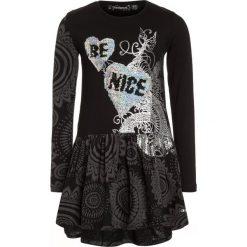 Sukienki dziewczęce: Desigual JACKSONVILLE Sukienka z dżerseju black
