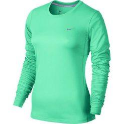 Nike Koszulka damska Miler Long Sleeve zielona r. XS (686904 387). Zielone topy sportowe damskie marki Nike, xs. Za 100,00 zł.