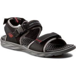 Sandały NEW BALANCE - M2067BGR Czarny. Czarne sandały męskie skórzane New Balance. W wyprzedaży za 159,00 zł.