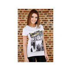 Koszulka UNDERWORLD Ring spun cotton One Night. Białe t-shirty damskie Underworld, m, z nadrukiem, z bawełny. Za 59,99 zł.