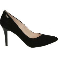 Czółenka - Z6047154 NERO. Czarne buty ślubne damskie Venezia, ze skóry. Za 319,00 zł.