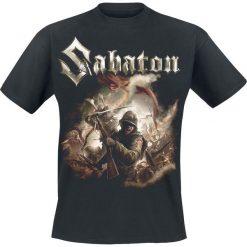Sabaton The last stand T-Shirt czarny. Czarne t-shirty męskie z nadrukiem Sabaton, m, z dekoltem na plecach. Za 74,90 zł.