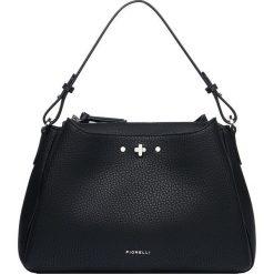 Fiorelli - Torebka. Czarne torebki klasyczne damskie marki Fiorelli, w paski, z materiału, średnie. Za 339,90 zł.