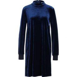 Sonia by Sonia Rykiel FLUID VELVET Sukienka z dżerseju dark blue. Niebieskie sukienki z falbanami marki Sonia by Sonia Rykiel, z dżerseju. W wyprzedaży za 869,40 zł.
