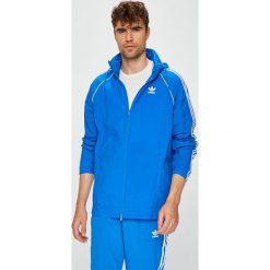 Adidas Originals - Kurtka. Szare kurtki męskie przejściowe adidas Originals, l, z nylonu, z kapturem. W wyprzedaży za 279,90 zł.