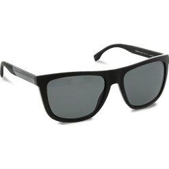Okulary przeciwsłoneczne BOSS - 0834/S Blk/Crbnblk HWM. Czarne okulary przeciwsłoneczne damskie clubmaster Boss, z tworzywa sztucznego. W wyprzedaży za 679,00 zł.