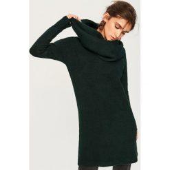 Sweter w zestawie z kominem - Khaki. Białe swetry klasyczne damskie marki Reserved, l, z kominem. Za 139,99 zł.