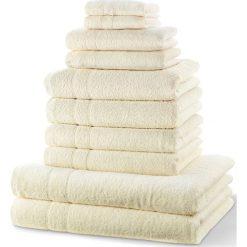 """Bielizna męska: Komplet ręczników """"New Uni""""(10 części) bonprix kremowy"""