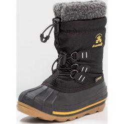 Kamik CARMACKGTX Śniegowce black. Czarne buty zimowe damskie marki Kamik, z materiału. Za 419,00 zł.