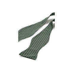 Mucha wiązana REUS zielony. Zielone muchy męskie HisOutfit, z materiału, wizytowe. Za 89,00 zł.