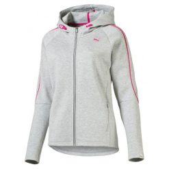 Bluzy damskie: Puma Bluza Evo Fz Hoody W Light Gray Heather Xs