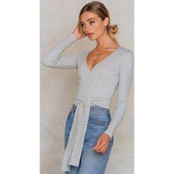 Swetry klasyczne damskie: Moves Sweter Blimunda - Grey