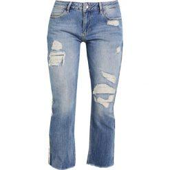 Liu Jo Jeans FRAY Jeansy Slim Fit destroyed denim. Szare boyfriendy damskie Liu Jo Jeans. W wyprzedaży za 559,20 zł.