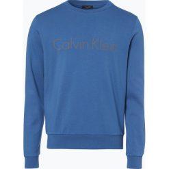 Calvin Klein - Męska bluza nierozpinana, niebieski. Niebieskie bluzy męskie rozpinane marki Calvin Klein, m, z bawełny. Za 299,95 zł.