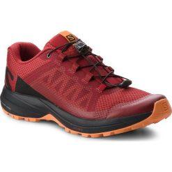Buty SALOMON - Xa Elevate 406117 26 V0 Red Dahlia/Black/Tangelo. Szare buty do biegania męskie marki Salomon, z gore-texu, na sznurówki, gore-tex. W wyprzedaży za 399,00 zł.