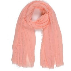 CHUSTA DAMSKA Z APLIKACJĄ. Różowe chusty damskie Top Secret, z aplikacjami, z tkaniny. Za 12,99 zł.