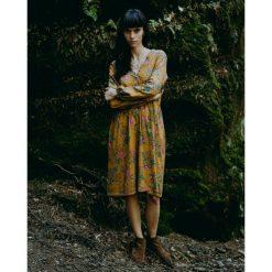 Sukienki: Musztardiwa sukienka Melisa