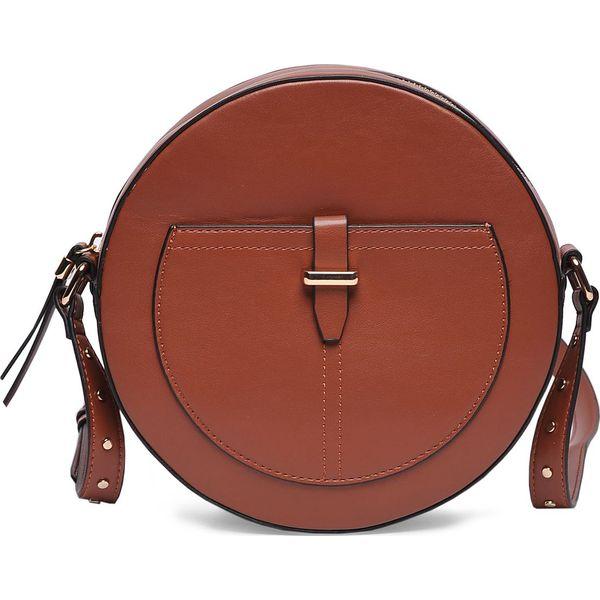 5a91c3257e5a5 TOREBKA DAMSKA - Brązowe torebki klasyczne damskie Top Secret. Za 49 ...