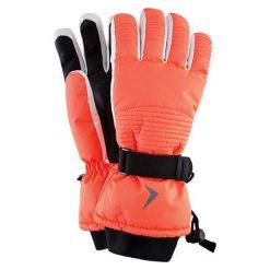 Rękawiczki damskie: Rekawiczki narciarskie w kolorze koralowym