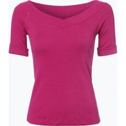 Odzież damska: Marc Cain Sports – T-shirt damski, lila