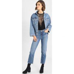 Bomberki damskie: NORR Kurtka jeansowa blue