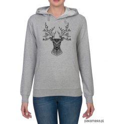 Bluzy damskie: Bluza damska z jeleniem