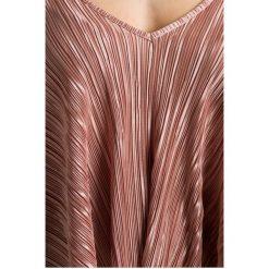 Missguided - Top. Różowe topy damskie marki Missguided, z dzianiny. W wyprzedaży za 49,90 zł.