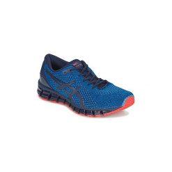 Buty do biegania Asics  GEL-QUANTUM 360 KNIT 2. Niebieskie buty do biegania męskie Asics. Za 703,20 zł.