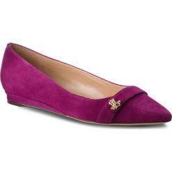 Półbuty LAUREN RALPH LAUREN - Aminah 802713191003 Purple. Fioletowe półbuty damskie skórzane Lauren Ralph Lauren, na płaskiej podeszwie. Za 439,90 zł.
