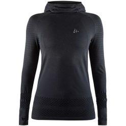 Craft Bluza Damska Core Fuseknit Hood Black M. Czarne bluzy rozpinane damskie Craft, m. Za 225,00 zł.