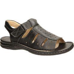 SANDAŁY CASU F071. Czerwone sandały męskie marki Melissa, z kauczuku. Za 49,99 zł.