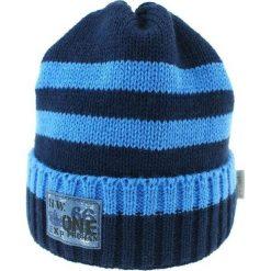 Czapka zimowa CZ 036B niebieska-granatowa r. 50-54. Niebieskie czapeczki niemowlęce Proman, na zimę. Za 41,99 zł.