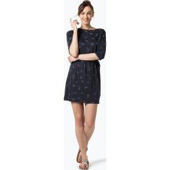 ARMEDANGELS - Sukienka damska – Lumi Crance Dance, niebieski. Niebieskie sukienki z falbanami ARMEDANGELS, xl, z nadrukiem, dopasowane. Za 299,95 zł.