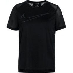 Nike Performance DRY MILER RUNNING Tshirt basic black/anthracite/silver. Czarne t-shirty damskie marki Nike Performance, l, z materiału. Za 139,00 zł.