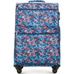 Walizka duża 56-3S-543-FL. Brązowe walizki marki Wittchen, z nadrukiem, duże. Za 269,00 zł.