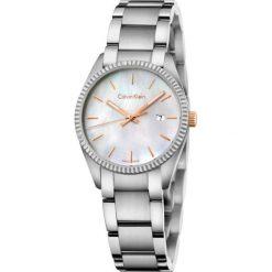 ZEGAREK CALVIN KLEIN ALLIANCE K5R33B4G. Białe zegarki damskie Calvin Klein, szklane. Za 1219,00 zł.