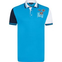 """Koszulki polo: Koszulka polo """"Pull Cart"""" w kolorze niebieskim"""