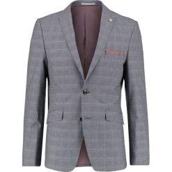 Marynarki męskie slim fit: Burton Menswear London CHECK Marynarka garniturowa grey