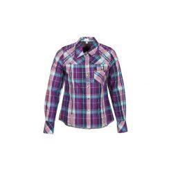 Koszule Alba Moda  BLUSE. Fioletowe koszule nocne i halki marki FOUGANZA, z bawełny. Za 307,30 zł.
