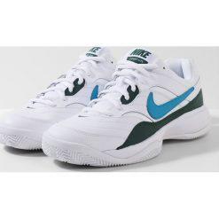 Buty do tenisa męskie: Nike Performance COURT LITE CLAY Obuwie do tenisa Outdoor white/neo turquoise/hype