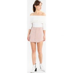 Spódniczki: Fashion Union ROWLOCK Spódnica mini mocha