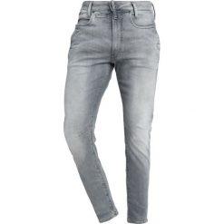 GStar Jeans Skinny Fit wess grey superstretch. Szare rurki męskie marki G-Star, z bawełny. Za 699,00 zł.