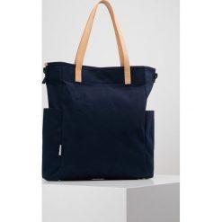 Shopper bag damskie: Rawrow LONG TOTE COTNA Torba na zakupy navy