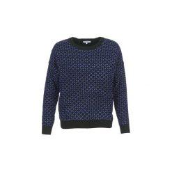 Swetry Suncoo  PHEBE. Niebieskie swetry klasyczne damskie Suncoo, m. Za 311,20 zł.